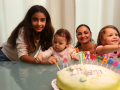 Luana, Helena, Gotti und Giulia