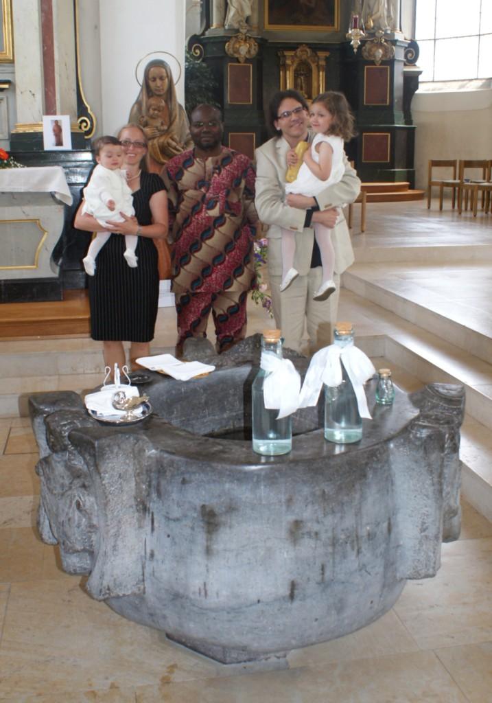 Taufe am 31. Mai